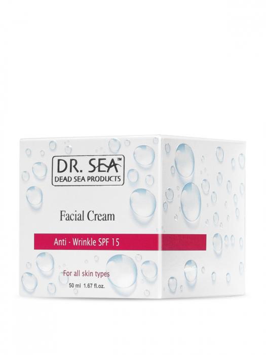 Crema Antirid cu Minerale de la Marea Moarta si factor de protectie SPF15 [2]