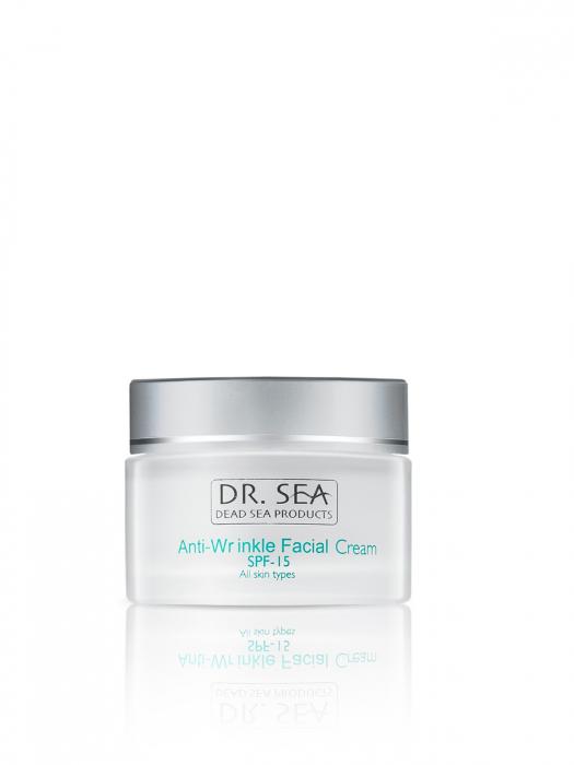 Crema Antirid cu Minerale de la Marea Moarta si factor de protectie SPF15 [3]
