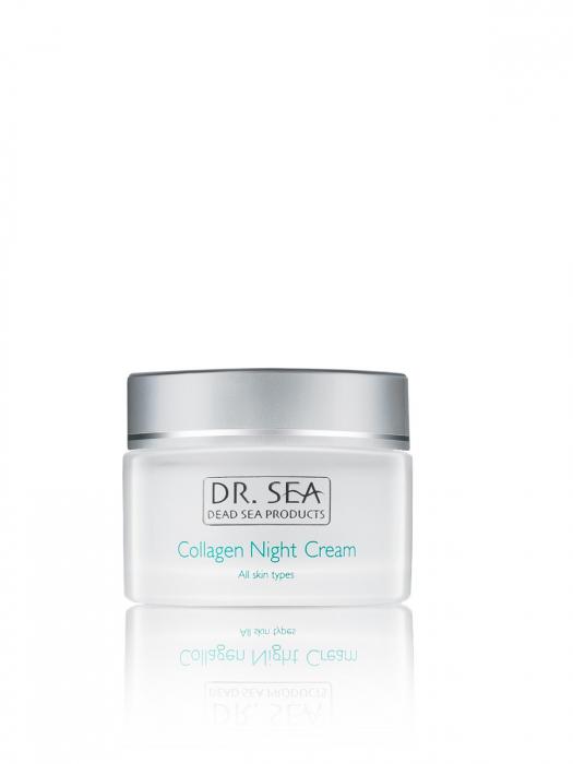 Crema de noapte cu Colagen si Minerale de la Marea Moarta 2