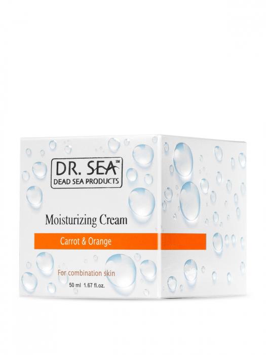 Crema Hidratanta pentru ten mixt cu Minerale de la Marea Moarta, Morcov si Portocala 2