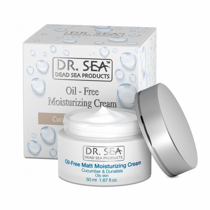 Crema Oil Free Hidratanta cu Minerale de la Marea Moarta Castravete si Dunaliella (alga marina) 0