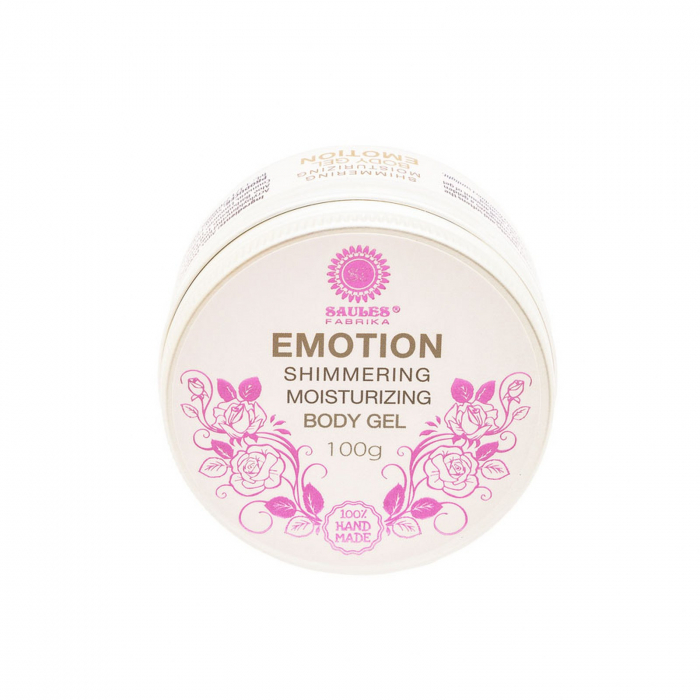 Gel de corp Emotion hidratant cu efect de sclipire 100% Handmade 0