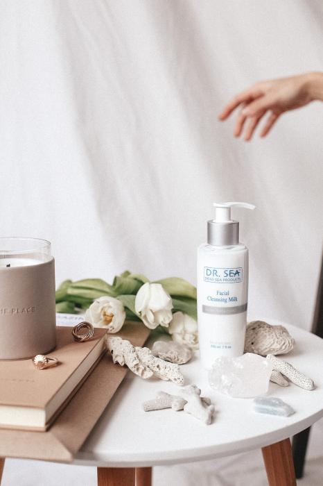 Lapte de curatare faciala 3 in 1 cu  Minerale de la Marea Moarta si Ginkgo Biloba 4
