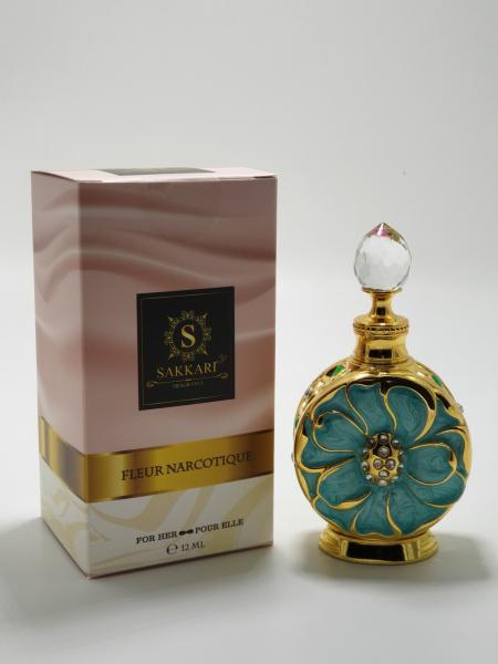 Parfum arabesc Sakkari Fleur Narcotique Turcoaz 3