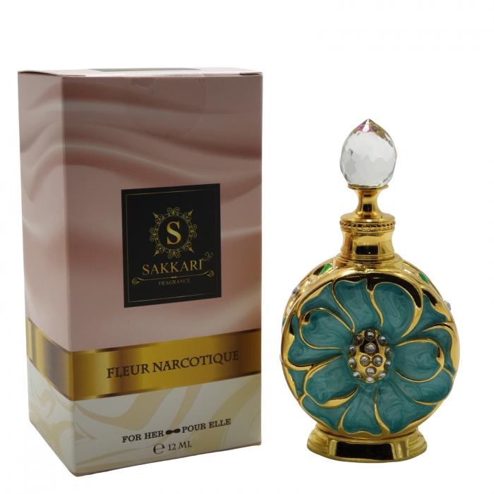 Parfum arabesc Sakkari Fleur Narcotique Turcoaz 9