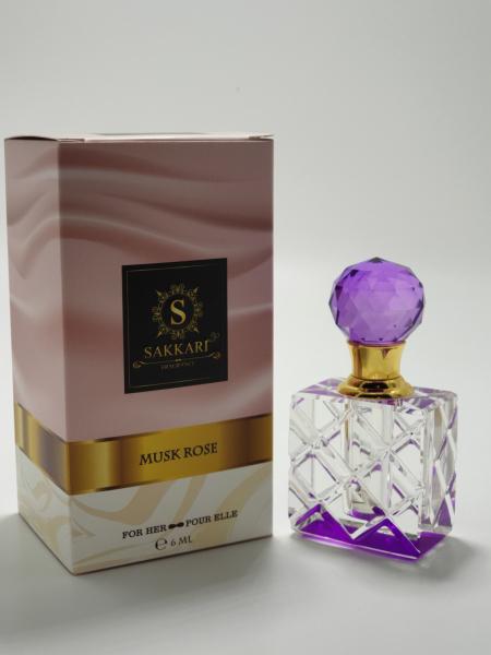 Parfum arabesc Sakkari Musc Rose 1