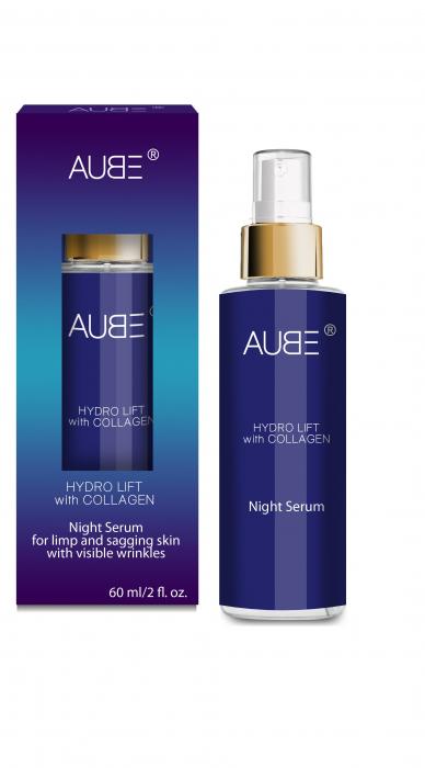 Ser cu colagen zi & noapte Aube 60 ml [0]
