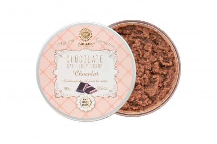 Set Cadou 4 Produse - Iaurt de corp cu Ciocolata, Body Scrub cu Ciocolata, Gel de Dus cu Ciocolata si Sapun solid cu Ciocolata 4