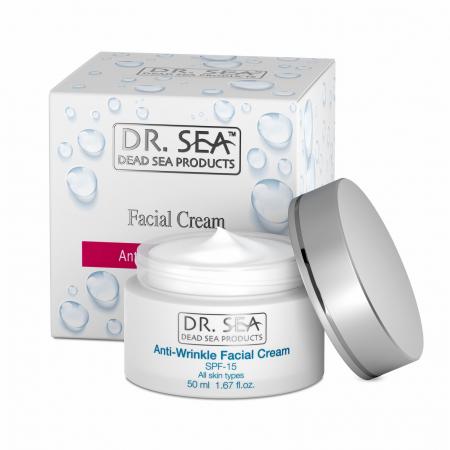 Crema Antirid cu Minerale de la Marea Moarta si factor de protectie SPF15 [0]