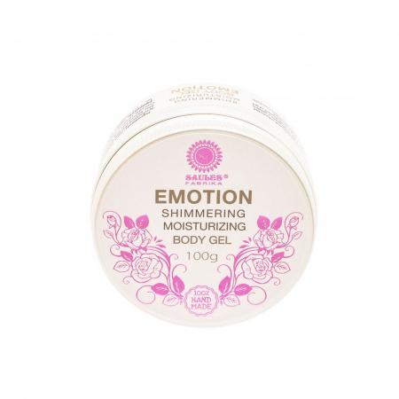 Gel de corp Emotion hidratant cu efect de sclipire 100% Handmade0