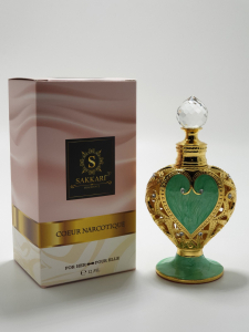 Sakkari Coeur Narcotique Green2
