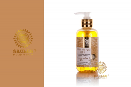 Set Cadou 2 Produse - Gel de Dus Gold si Sapun Lichid pentru maini Gold- Saules Fabrika1