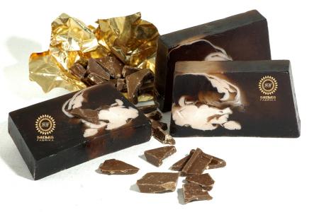 Set Cadou 4 Produse - Iaurt de corp cu Ciocolata, Body Scrub cu Ciocolata, Gel de Dus cu Ciocolata si Sapun solid cu Ciocolata1