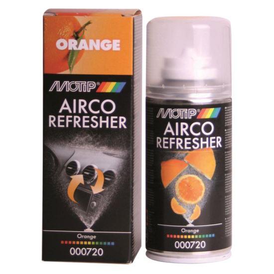 Spray odorizant Airco Refresher curatare aer conditionat ,Motip,150ml,Portocale [0]