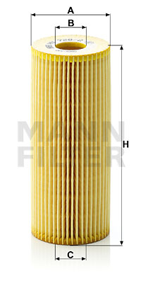 Filtru Ulei MANN-FILTER HU726/2X [0]