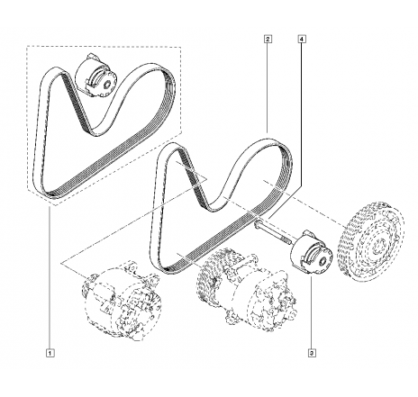 Kit accesorii Dacia Duster, Dokker, Lodgy, Logan 2, Sandero 2 Euro 5/ Euro 6-117201925R [0]