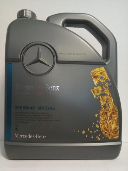 Ulei Motor Original MERCEDES BENZ 5W40 (MB 229.5) 5L 0