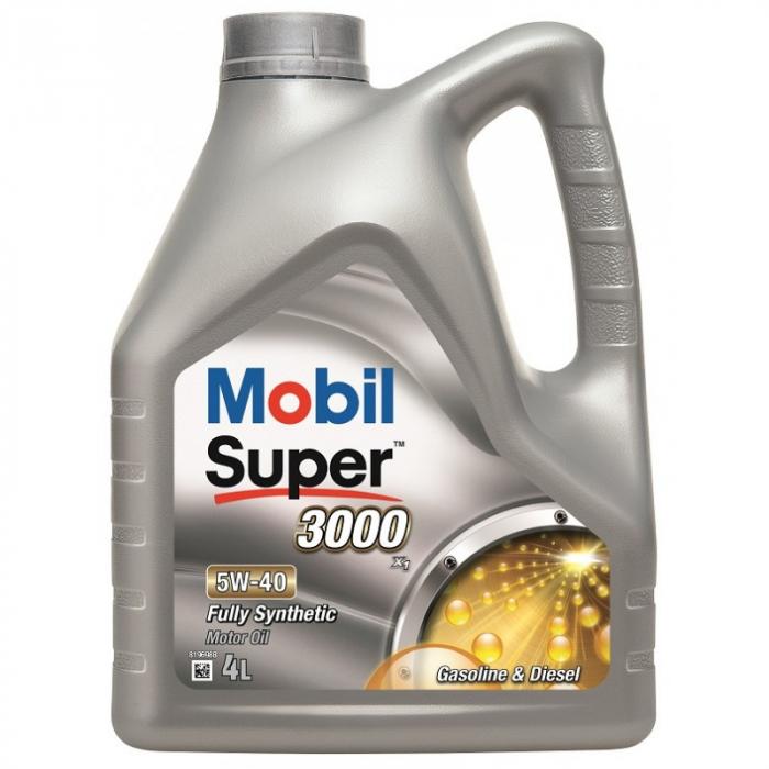 Mobil Super 3000 X1 5W-40 4L 0