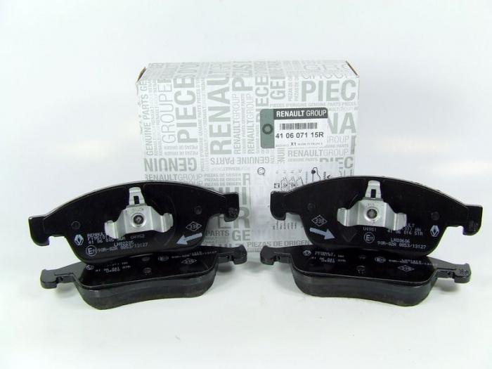 Set Placute Frana Fata Dacia Duster 1.5 DCI 410600379R 0