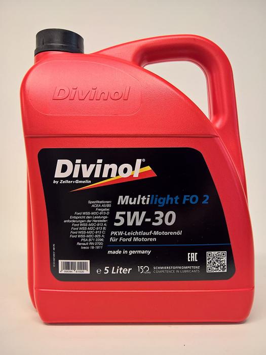 Ulei motor DivinolL Multilight FO 2/ SAE 5W-30 -5 LITRI 0