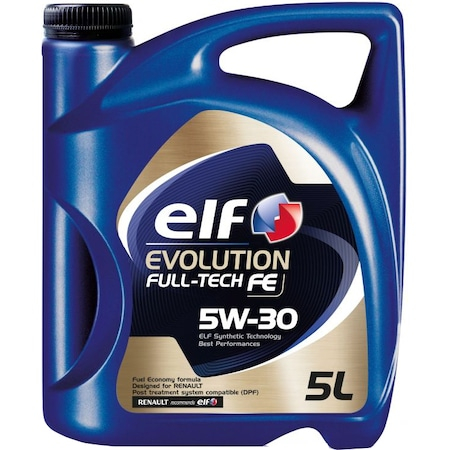 Ulei motor Elf Evolution Fulltech FE, 5W30, 5L 0