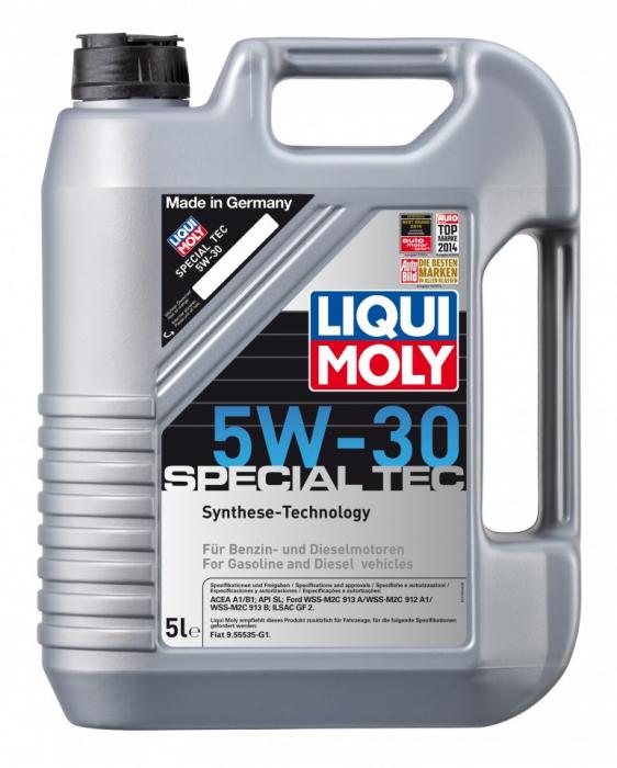 Ulei Motor Liqui Moly Special Tec  5W30 5L 0