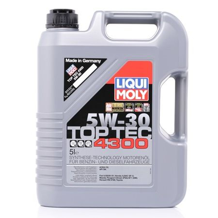 Ulei motor LIQUI MOLY Top Tec 4300 5W-30 5L Ulei sintetic [0]