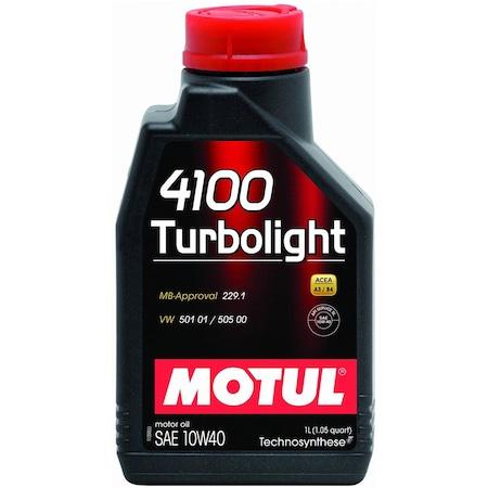 Ulei motor Motul 4100 Turbolight, 10W40, 1L 0