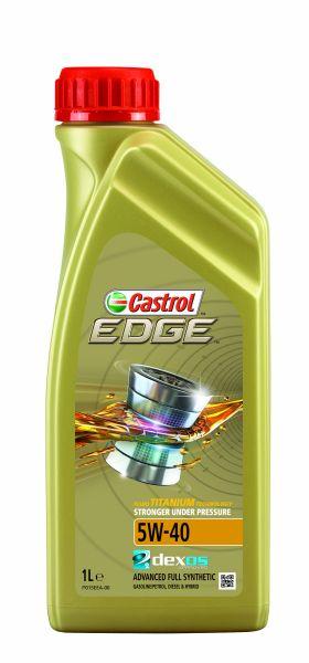 Ulei pentru motor Castrol Edge  TITANIUM TURBO DIESEL 5W40 1L 0