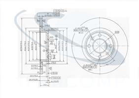 Disc frana Dacia Logan plin Fi 259 Prompter1