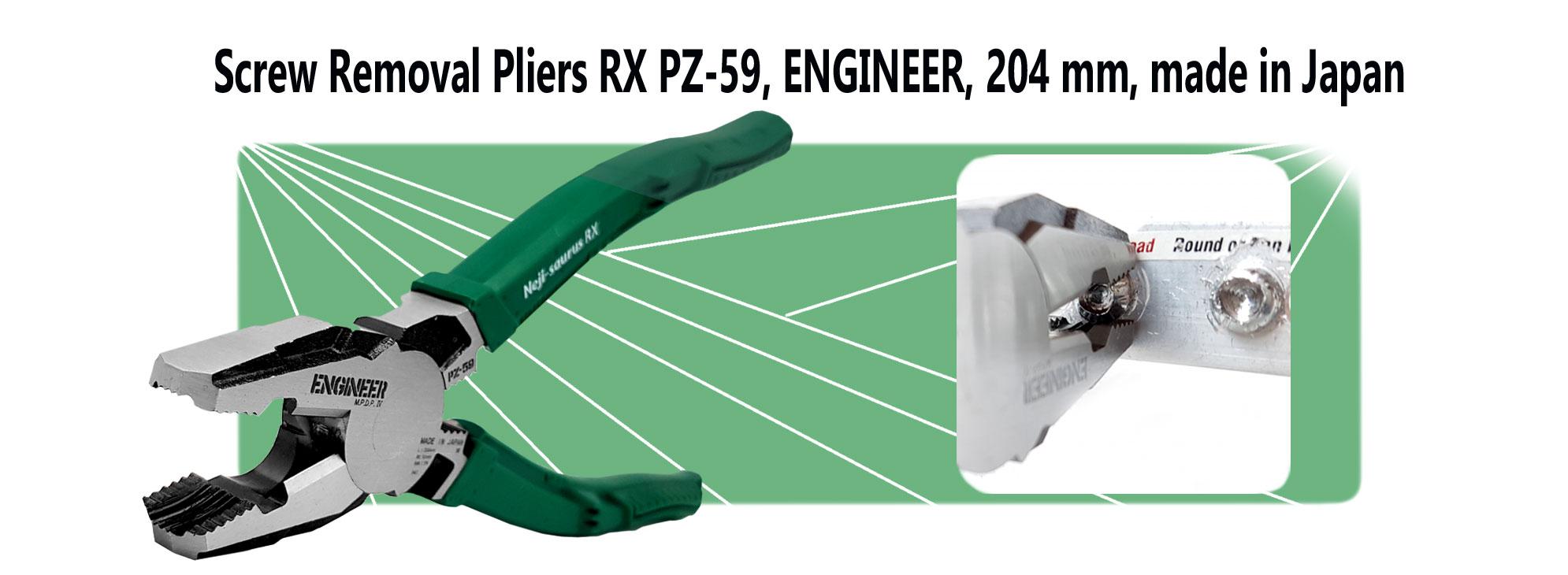 Cleste-patent-combinat-extragere-suruburi-rupte-ENGINEER-PZ-59-EN