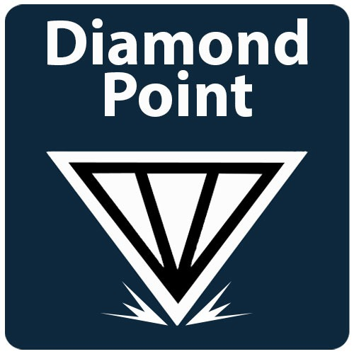 cuie cu vraf diamond point