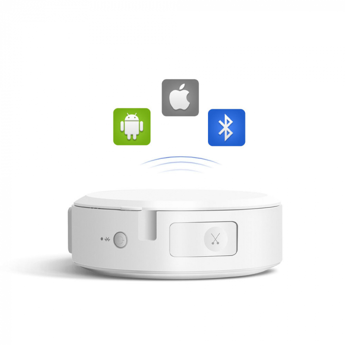 Etichetator/masina de etichete Sanco P1000 conectare Bluetooth sau USB, acumulator Li-Ion 1500 mAh, compatibil Brother, transfer termic, viteza printare peste 20 mm/s, rezolutie 180 dpi-big