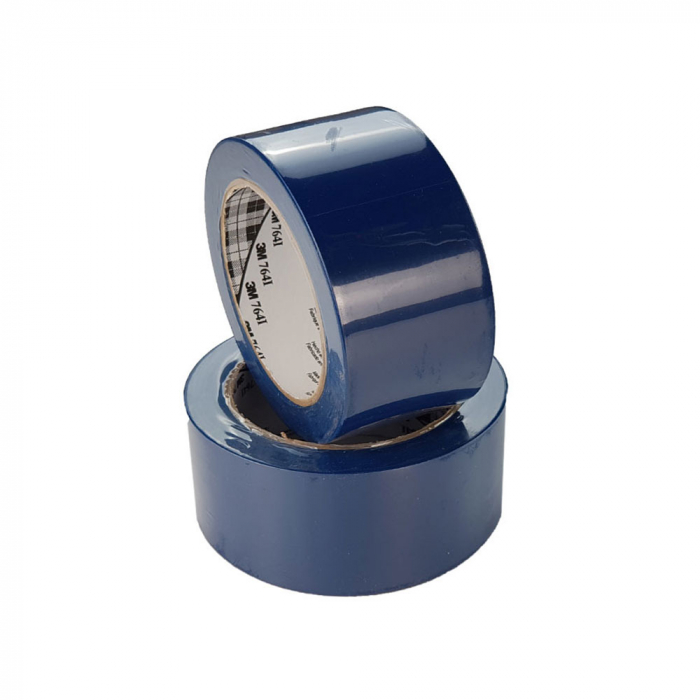 Banda marcare/protectie 3M vinil albastru, 75mm x 33m, aplicatii generale si marcare spatii periculoase 70006299807-75-big