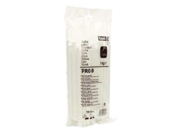 Batoane lipici Rapid PRO-B, Ø12 mm x 190 mm, alb, 1.000g, punga-big