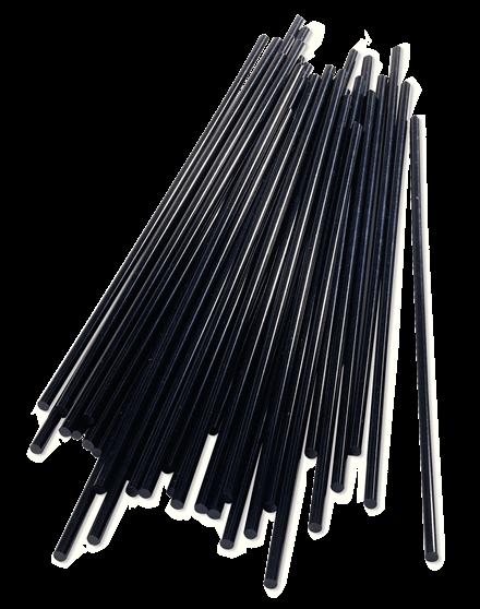 Batoane lipici Rapid reparatii masini, diametrul de 12 mm x 190 mm  negru, 1.000g, punga-big