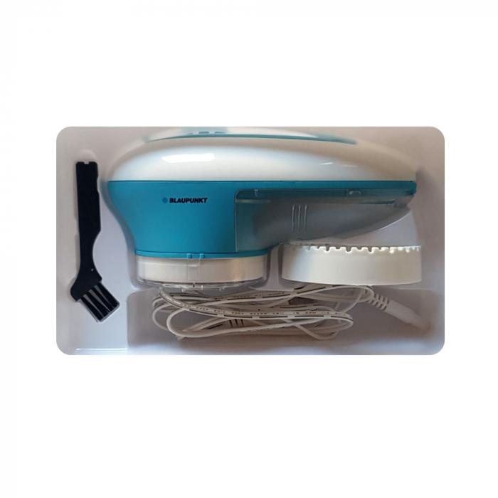 Aparat curatat scame Blaupunkt RLR301, 5V, albastru, diametru lame 4.2 cm, acumulator NiMH, incarcare USB 2.0-big