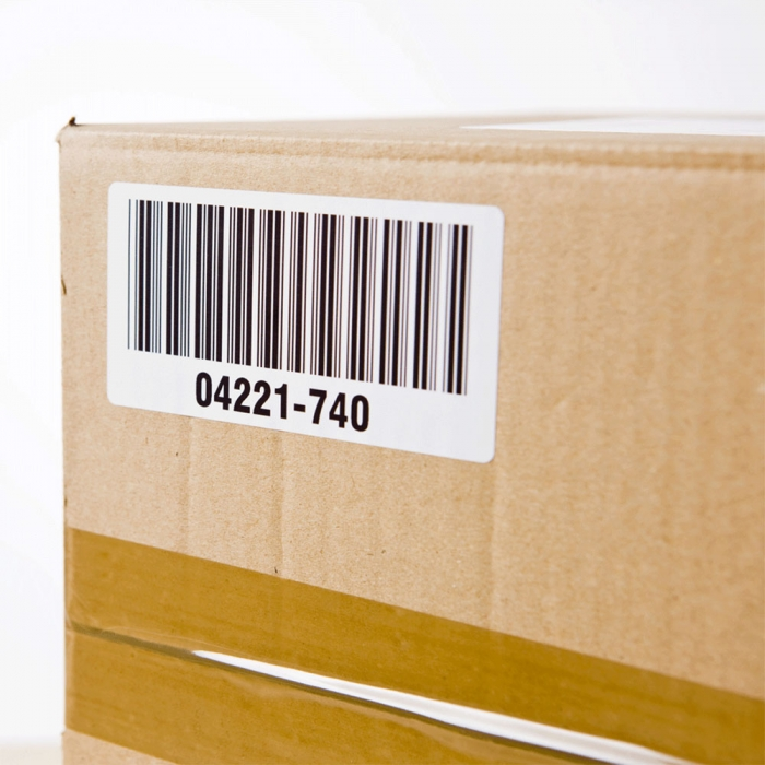 Etichete termice autocolante transport, compatibile, Brother DK-11209, hartie alba, permanente, 29mmx62mm, 800 etichete/rola, suport din plastic inclus. 2 role / set-big