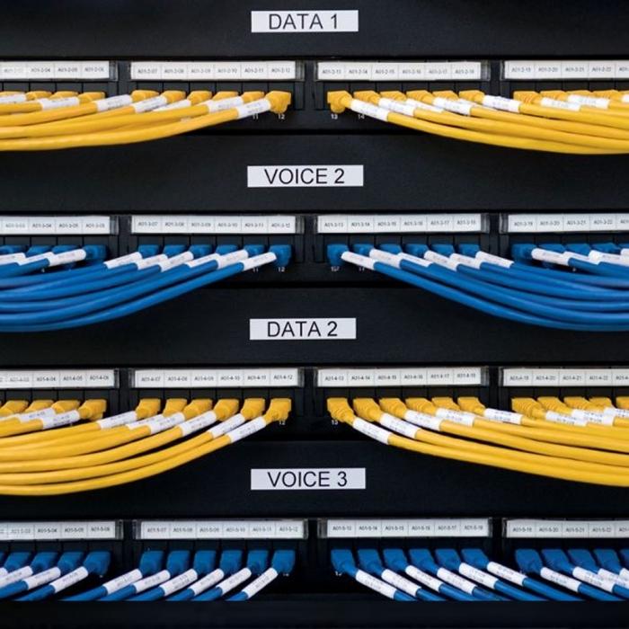 Etichete autocolante compatibile flexibile, Brother TZe-FX231, 12mm x 8m, negru/alb, TZe-FX231-C-big