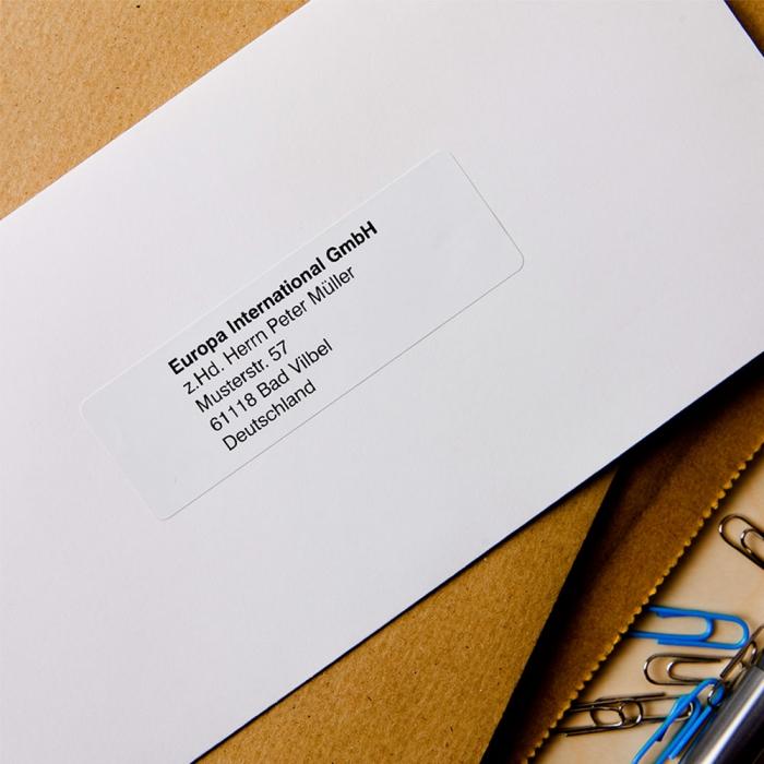 Brother DK eticheta adresa standard, 29mm x 90mm, 400 etich/rola, DK11201-big
