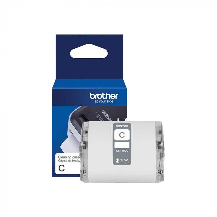 Banda curatare cap printare Brohter CK-1000, 50mm x 2m, originala, pentru imprimanta Brother VC-500W full color, CK1000-big