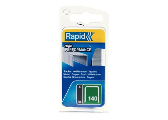 Capse Rapid 140/12 mm, galvanizate, 650/ blister-big