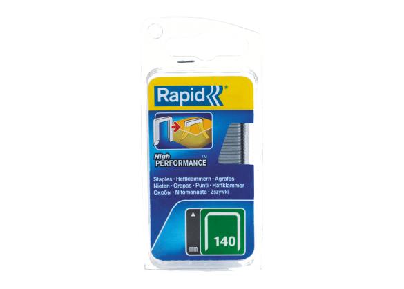 Capse Rapid 140/14 mm, galvanizate, divergente, 650/ blister-big