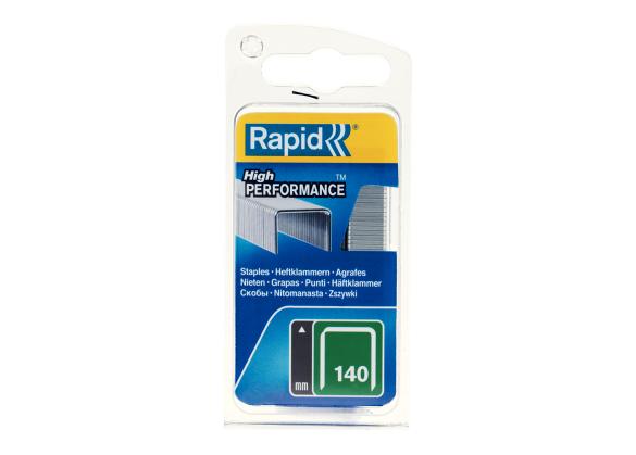 Capse Rapid 140/6 mm, galvanizate, 970/ blister-big