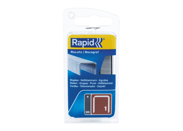 Capse Rapid BMN/10mm, galvanizate, 1.080/ blister-big