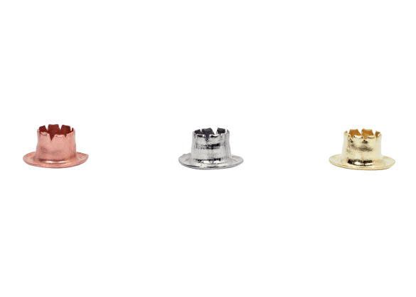 Ocheti Rapid  - diametrul de 4 mm, aluminiu, sistem fixare inclus, 100buc/ blister-big