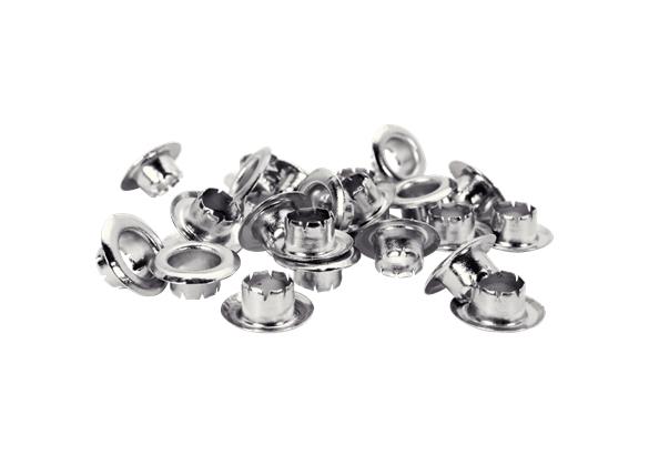 Ocheti Rapid  - diametrul de 6 mm, aluminiu, sistem fixare inclus, 25buc/ blister-big