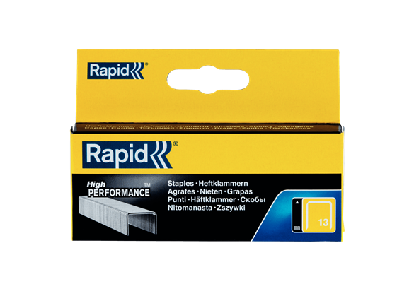 Capse Rapid 13/14 mm, galvanizate, 2.500/ cutie-big