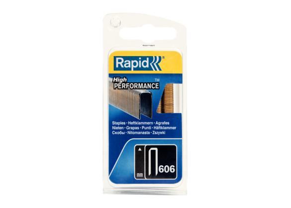 Capse Rapid 606/30 mm, galvanizate, cu rasina, 600/ blister-big