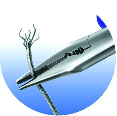 Cleste de electrician multifunctional, 514/1BI UNIOR, negru-albastru, 160 mm, taie sarma 2.2-4 mm  612782-big